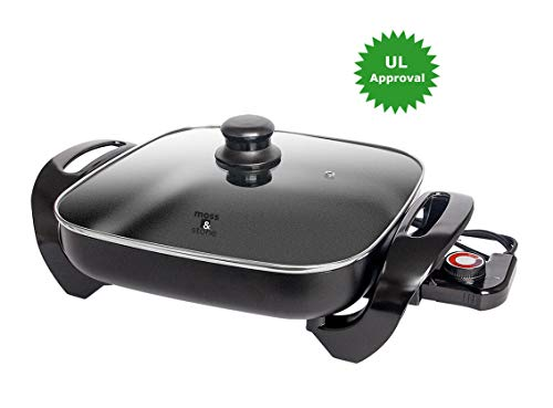 Ultimate Nonstick Electric Skillet 12