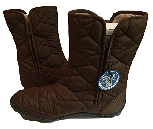 Boots Sportswear Women's 9 Brown Powder Tobacco Summit Columbia 5 Size Mid 0qd1d