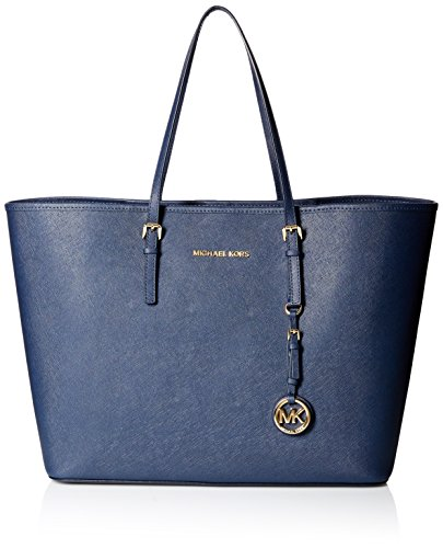 Michael Kors Jet Set Large East/West Travel Tote, Navy by MICHAEL Michael Kors