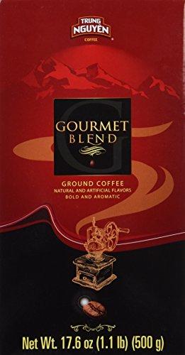 Trung Nguyen Gourmet Blend, 17.6 oz (Pack of 3)