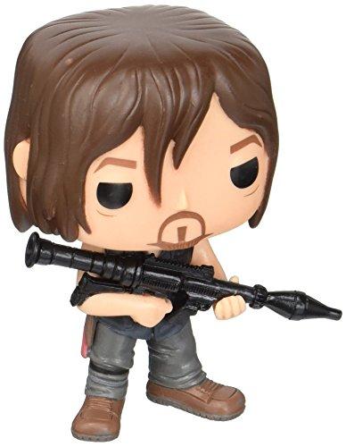 Funko POP Television: The Walking Dead - Daryl (Rocket Launcher) Action Figure (Television Pop Walking Dead)