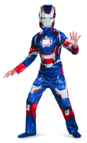 [Marvel Iron Man 3 Patriot Boys Classic Costume, 10-12] (Halloween Costumes Iron Man)