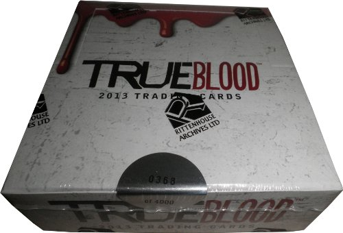 [Rittenhouse True Blood Archives 2013 Factory Sealed Trading Card Box] (Sookie Stackhouse Costumes)