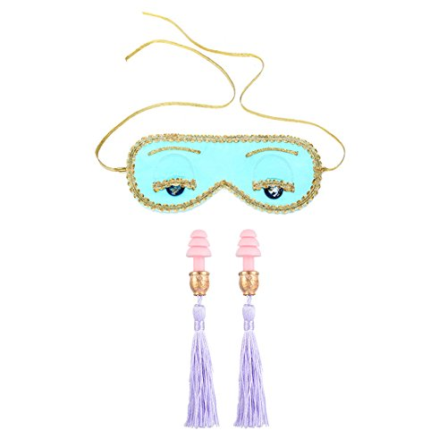 Sleep Eye Mask and Earplug Set - Audrey Hepburn in Breakfast at ()
