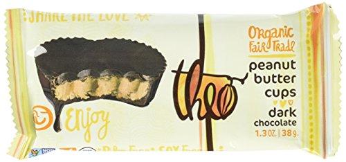 Theo Organic Dark Chocolate Peanut Butter Cups, 2 Cups