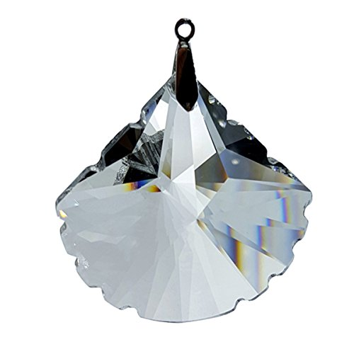 #7238-63, Crystal Scallop Feng Shui Window Prism 63mm / 2.5 Inches
