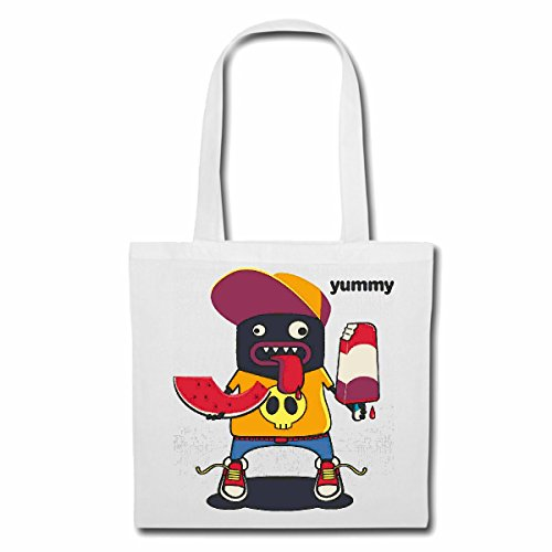 "sac à bandoulière ""MONSTER YUMMY PENDANT GLACE ALIMENTAIRE AVEC popsicles WATERMELON SOFT ICE CREAM RIZ Chocolate DIET MINCEUR CALORIES FIGURE FITNESS BMI FAT COVER DICK THIN FIGURE SOULIGNE BELLY POR"
