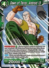 Dragon Ball Super TCG - Dawn of Terror, Android 13 - Series 3 Booster: Cross Worlds - BT3-070 070 Series
