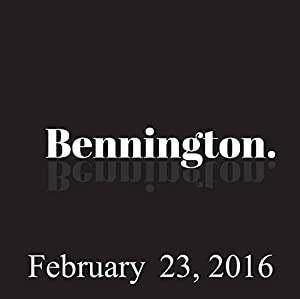 Bennington, Graham Nash and Bonnie McFarlane, February 23, 2016 Radio/TV Program
