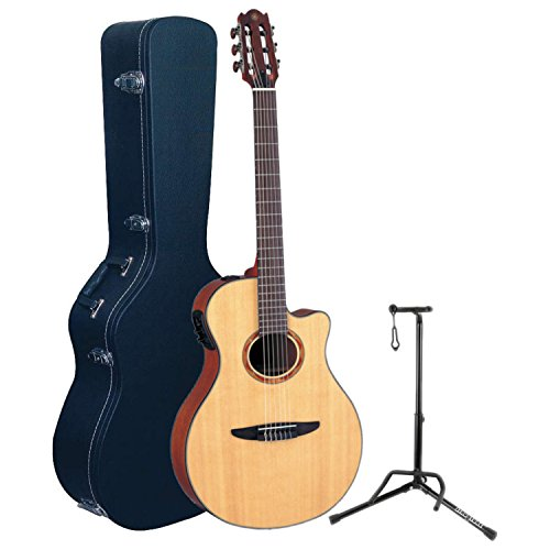get yamaha ntx700 ntx acoustic electric classical guitar w hard case and stand at guitar center. Black Bedroom Furniture Sets. Home Design Ideas