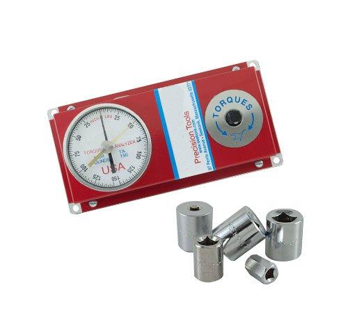 Checkline TAF-100-MD Torque Tester Analyzer, Range: 0 - 100 ft-lbs, Drive Size: 1/2'' by Checkline