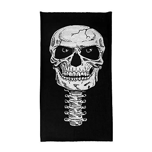 DeemoShop New Skull Mask Half Face Cycling Motorcycle Neck Tube Ski Scarf Masks Balaclava Masker Costume Halloween Party -