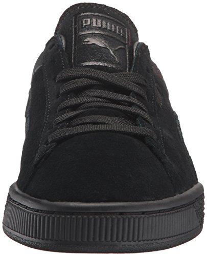 Sneaker da uomo in pelle scamosciata casual classica per uomo, Puma Black, 5 M US
