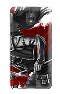 Hot Tpu Cover Case For Galaxy/ Note 3 Case Cover Skin - Women Warrior