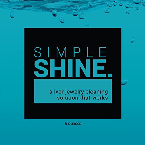 NEW Silver Jewelry Cleaner Solution | Cleaning for Sterling Jewelry, Coins, Silverware and More by Simple Shine (Image #4)