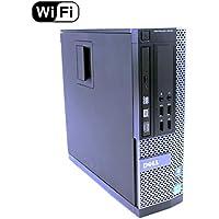 Dell Optiplex 9010 SFF Desktop PC - Intel Core i5-3470 3.2GHz 16GB RAM 240GB SSD DVD Windows 10 Pro, WIFI (Certified Refurbished)