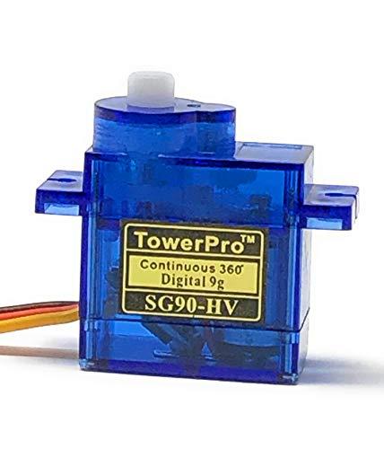 Tower Pro SG90-HV Continuous 360° Digital Servo - 2 ()