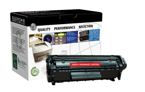 NEW Clover Technologies Group Compatible Toner CTG12M (1 Cartridge) (Mono Laser Supplies) by Clover Technologies