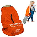 Car Seat Travel Bag -Make Travel Easier & Save Money. NEW IMPROVED Carseat Carrier for Airport - Protect your Child's CarSeats & Stroller from Germs & Damage. Easy Carry Padded Backpack