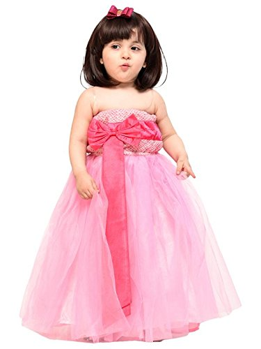 677da57d6654c Samsara Couture Baby Girls Ball Gown Full Length Dress: Amazon.in: Clothing  & Accessories