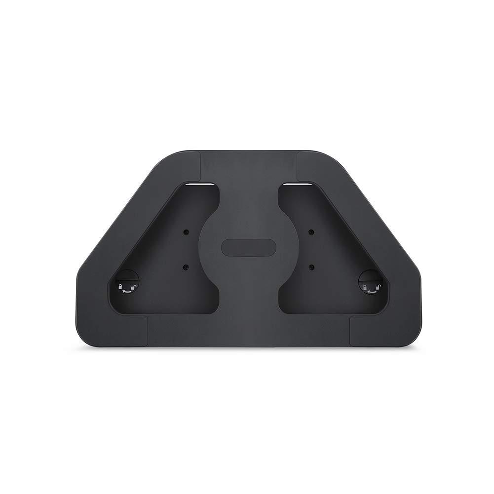 Supporto in lega di alluminio regolabile Tutyuity Echo Show per Echo Show 2/° generazione rotazione a 360/° colore: Nero