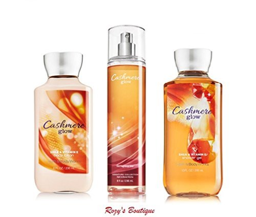 Bath & Body Works Cashmere Glow Gift Set – All New Daily Trio (Full-Sizes)