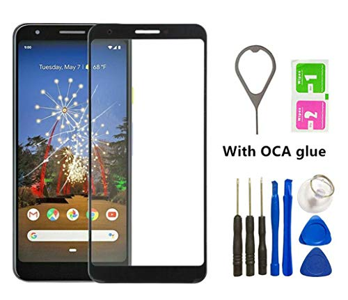 Front Outer Screen Glass Lens Replacement for Google Pixel 3A XL 6.0