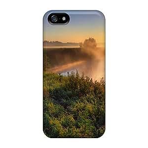 Hot Dream Summer Sunrise First Grade Tpu Phone Case For Iphone 5/5s Case Cover
