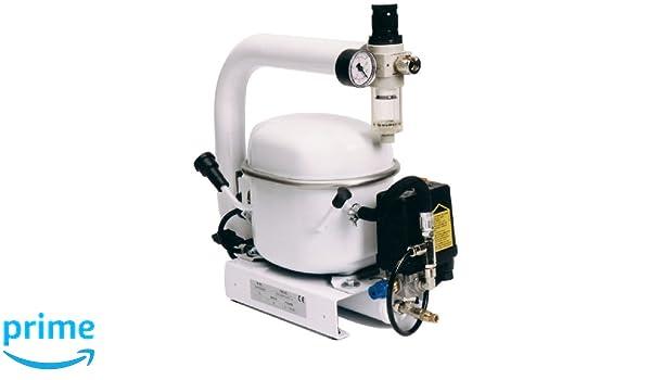 Mecadeco 425612 - Compresor silencioso (1 L): Amazon.es: Bricolaje y herramientas