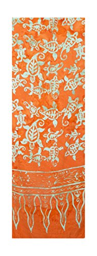 Batik Scarf - Sea Turtles, Assorted Colors Only!