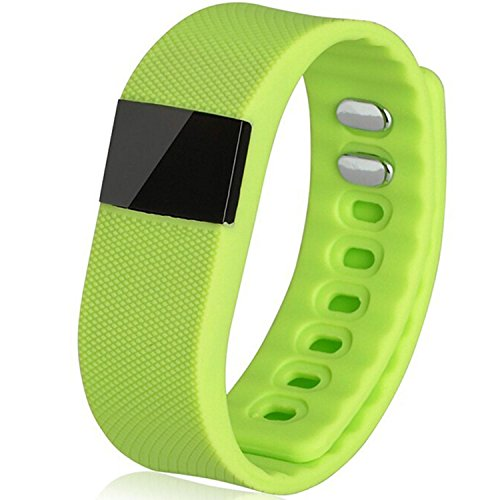 Sport Bluetooth Smart-Sync-Armband, Fitness-Tracker Armband, wasserdicht, Schlafueberwachung, Anti-Verlier-Funktion für Android Iphone Handy Orange