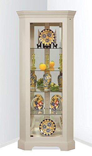 Newport II Corner Curio Cabinet