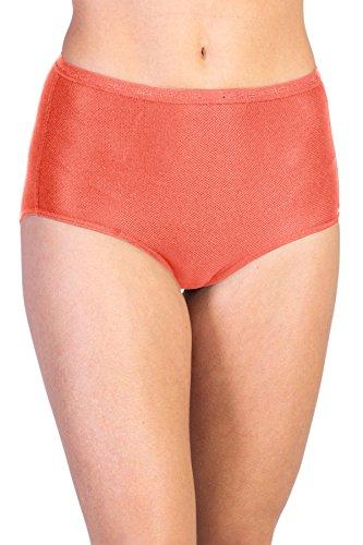 ExOfficio Women's Give-N-Go Full Cut Brief, Hot Coral, X-Small