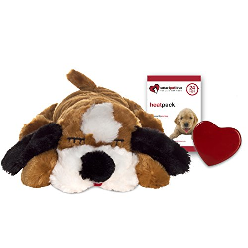 SmartPetLove Snuggle Puppy Behavioral Aid Toy, Brown and White For Sale