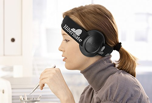 New! Hibermate Headband With Sound-Reducing Ear Muffs for Studying, Musicians with 2 Sets of Ear Cushions. Can help Autism, SPD, Drummers etc.