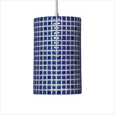 Cobalt Confetti (A19 Confetti Pendant 6 by 9.5