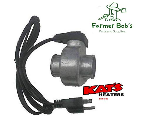 14800 - Kat's Engine Heaters Lower Radiator Heater with 2'' Hose Made In USA Farmer Bob's Parts 14800 by Farmer Bob's Parts