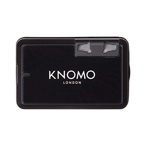 knomo-london-world-travel-adaptor-black