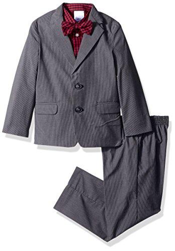 Nautica Little Boys' Stripe Suit Set with Bow