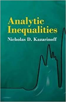 Analytic Inequalities (Dover Books on Mathematics)