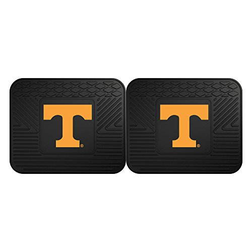 Tennessee Baseball Rug - FANMATS 12298 University of Tennessee Utility Mat - 2 Piece