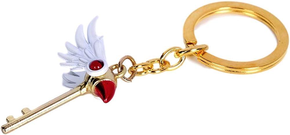 New style Japan anime CARD CAPTOR SAKURA Rubber Keychain Key Ring Rare