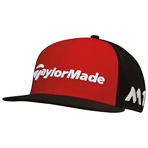 TaylorMade Golf 2017 tour new era 9fifty hat red/black