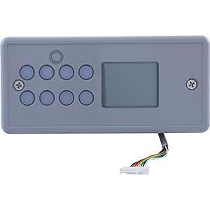 Gecko 0200-007119 Spa Side Central Electric TSC4-SL-25-AD-NO 8BTN LCD