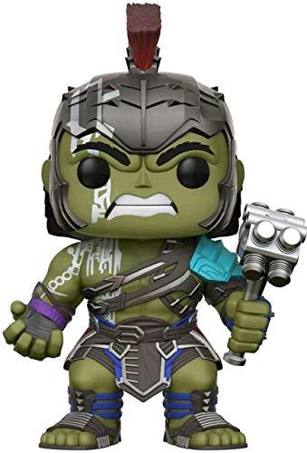Funko– Figura Pop Vinyl Coleccionable de la Serie Marvel Thor Ragnar, Personaje Hulk Gladiator 241 - Realizada en Vinilo - Modelo 23213 - 25,4cm de Altura