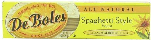 DeBoles Jerusalem Artichoke Pasta, Spaghetti, 8 Ounce (Pack of - Pasta Organic Deboles