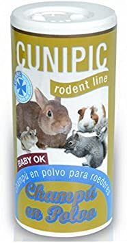 Cunipic Champu en polvo 125 ml. Rodent Line para roedores
