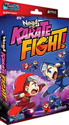 Amazon.com: Karate Fight Ninja All Stars Edition Board Game ...