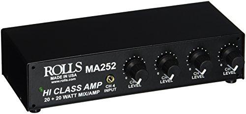 xlr mixer amp - 4