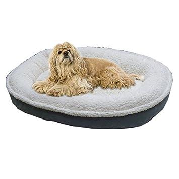 Sherpa/ante COMFY taza perro cama tamaño mediano azul: Amazon.es: Productos para mascotas